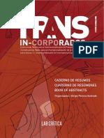 Resumo Publicado Em Anais Internacionais 40 - 99, 104 -155 Transincorporados