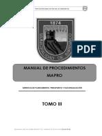 Mapro Tomo 3