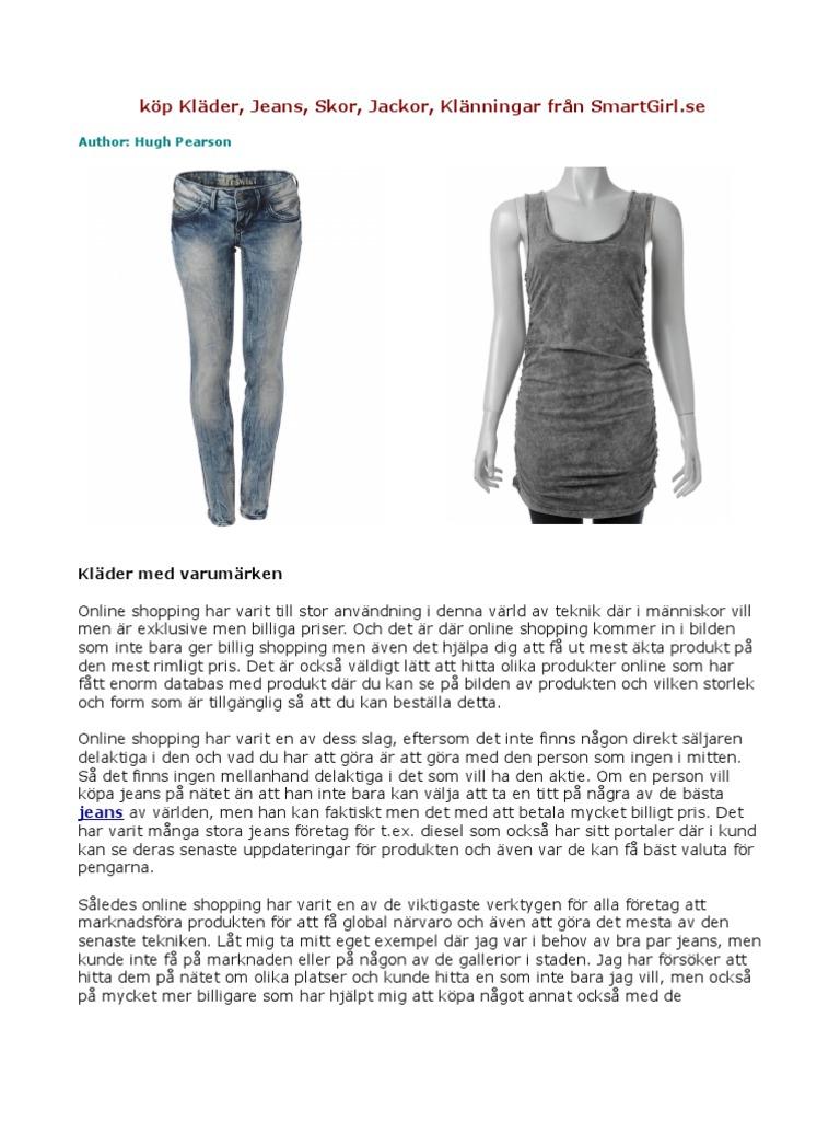 37905d294c55 köp Kläder, Jeans, Skor, Jackor, Klänningar från SmartGirl.se