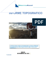 Informe Topografico Cochas Huancavelica