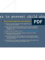child abuse Presentation1