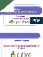 2- Environnement de développement pour Python - Yassine Ben Salah