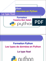 7- Le Type Float en Python - Yassine Ben Salah