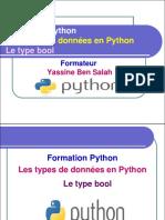 8- Le Type Bool en Python - Yassine Ben Salah