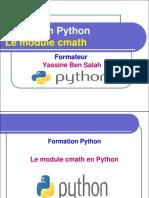 14- Le Module Cmath en Python - Yassine Ben Salah