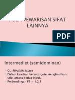 Part 2 Pola Pewarisan Sifat Mendel