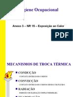 Anexo 3, NR15 - Calor
