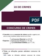 Aula 05 - Concurso de Crimes