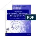 Developing Enterprise Applications