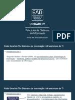 Slides de Aula – Unidade IV