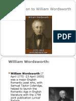 Introduction to William Wordsworth