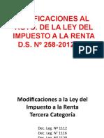 5 Exposición Modificaciones IR CCPA