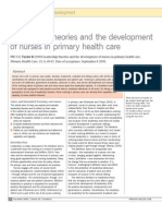 leadership theories and the development of nurses in primary health care