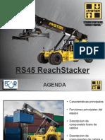 ENTRENAMIENTO OPERADOR RS45-31CH REACHSTACKER