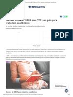 Normas da ABNT 2020 para TCC_ um guia para trabalhos acadêmicos