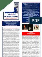 La Gazeta de Mora Claros nº 110 - 18032011
