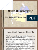 Fast and Simple Bookkeeping