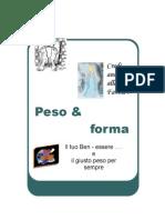 Peso e Forma Libro di R.Pedaletti