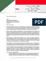 Carta Al Presidente Del Tribunal de Ética Del CCP 07.06.2021