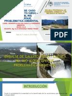 U III I TEMA DE CLASE CASO EMBALSE GALLITO CIEGO – CUENCA DEL RIO JEQUETEPEQUE, PROBLEMÁTICA AMBIENTAL