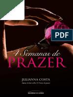 Julianna Costa - 4 Semanas de Prazer