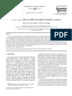 Bond–slip models for FRP sheets plates bonded to concrete