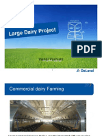 Commercial Dairy Farming-Needs and Solutions
