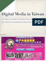 Digital Media in Taiwan Case Study