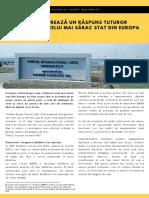 BERD datorează un răspuns tuturor cetățenilor, celui mai sărac stat din Europa
