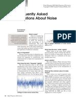 Noise important questions