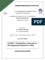exposé de OADIM ( Khemici zoubida).