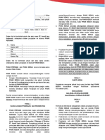 draft perjanjian kerja
