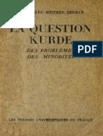 Mehmet Şükrü Sekban-Kürt Meselesi-Question Kurde-1933