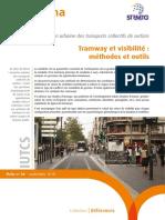 Cerema Fiche 4 - Tramway et visibilité, méthodes et outils