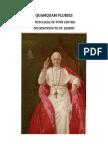 QUAMQUAM PLURIES Encyclical of Pope Leo XIII on Devotion to Saint Joseph