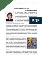 Educar en La Identidad Cultural - Miriam Mendoza