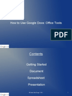 How to Use Google Docs - Office Tools