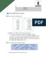 1485013108_Ficha de Trabalho - Palavras Simples e Palavras Complexas