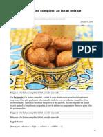 alicepegie.com-Beignets à la farine complète au lait et noix de muscade