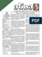 Datina - 8.06.2021 - prima pagină