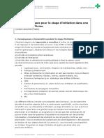 Factsheet Conseils Pratiques Pour Le Stage d Initiation Dans Une Pharmacie d Officine