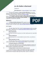 - BD I - Banco de dados relacional