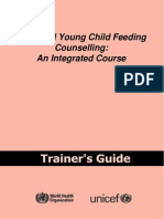 IYCF_Trainers_Guide