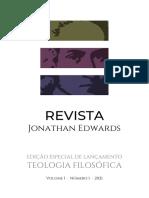 Revista Jonathan Edwards - VOLUME I · Nº 1 · 2021