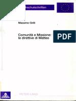 Comunita e Missione Matteo by Massimo Grilli (Z-lib.org)