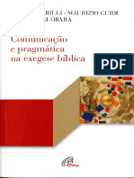 Comunicacao e Pragmatica Na Exegese Biblica by Massimo Grilli, Elzbieta M. Obara (Z-lib.org)