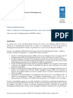 UNDP-MA-HDR 2018 Analyse light IDH Maroc