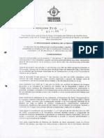 130_resolución 310 procuraduria