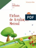 Carochinha Fichas Avaliação Mensal EM 1º Ano