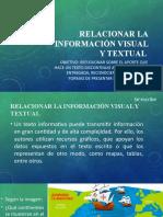 Información visual y escrita